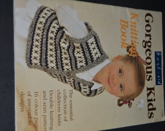 Gorgeous Kids, Knitting Pattern Booklet 7130  by Hayfield