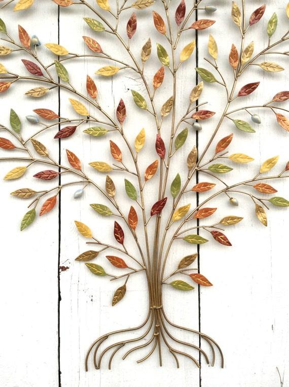 Family tree wall decor metal : Metal tree decor wall art