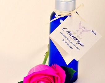 Organic Face & Body Mist - Rainbow Rose- Refreshing for all skin types - 125ml