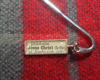 Miniature Jesus Christ Bookmark