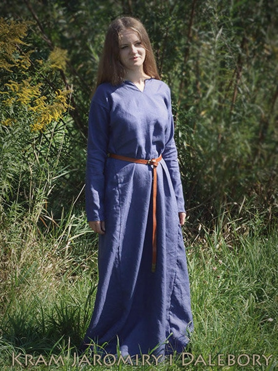 d233but underdress m233di233vale lin viking slave robe costume