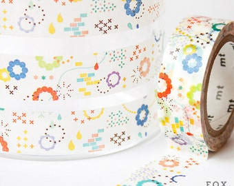 MT ex Washi Tape - Colorful Pop Pattern by mt masking tape