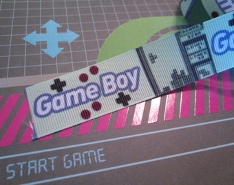 "1"" Gaming Grosgrain Ribbon for sewing/haircraft/diyhairbows/diy tutus"