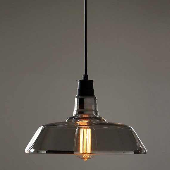 Items Similar To Industrial Lighting: Items Similar To Silver Coated Glass Industrial Pendant
