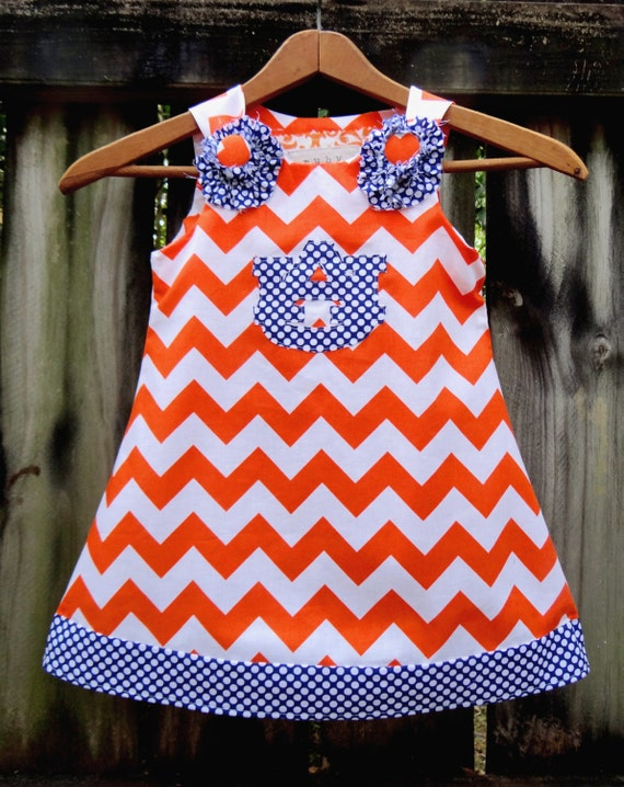 Auburn War Eagle A Line Dress by Ruby Pearl Boutique Style