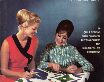 Barbara Taylor's Book on Quilting for Fun and Profit | Vintage Craft Book