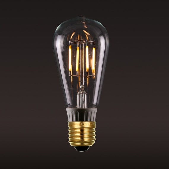 e27 led edison gl hlampe gl hbirne 220v edison squirrel cage. Black Bedroom Furniture Sets. Home Design Ideas