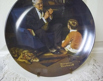 Knowles Norman Rockwell Heritage Collection, Plate 6: The Tycoon Collector Plate