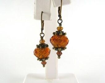 Fall Earrings, Autumn Earrings
