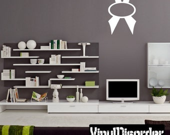 Ribbons Vinyl Wall Decal Or Car Sticker - Mvd004ET