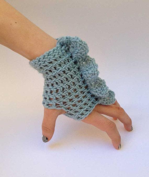 Outlander Scottish Fingerless Texting Gloves Loch Ness Nessie Claire Brianna Diana Gabaldon Winter accessories Mitts FREE SHIPPING