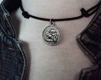 Cherub 90s Inspired Choker Necklace