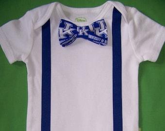 Baby Boy Clothes Bow Tie Bodysuit Infant Tuxedo