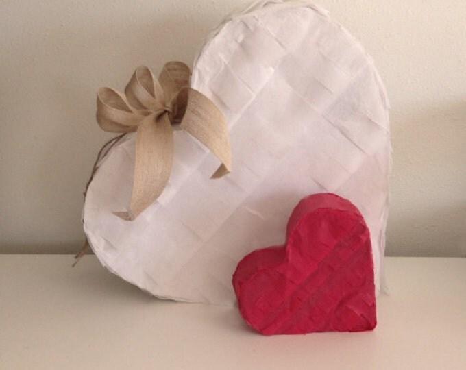 Heart Piñata | Gender Reveal Piñata | Pick Your Color | Wedding Piñata | Baby Shower Piñata