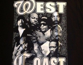 Hip hop legends rap west coast east coast snoop ice cube for Baby boy tupac mural