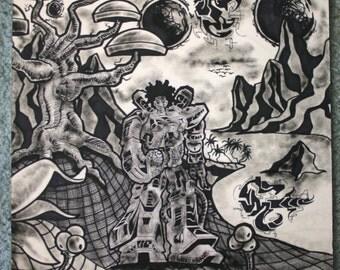 Untitled Grafitti Art by Tino (2001)