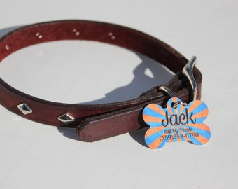 Dog Tag, Custom Dog Tag, Pet ID, Dog ID, Pet Tag, Personalized Pet, Cat Tag, Dog Bone, Cutom Pet Tag