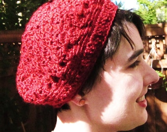 Ruby Red Beret