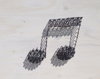 MUSIC NOTE String Art