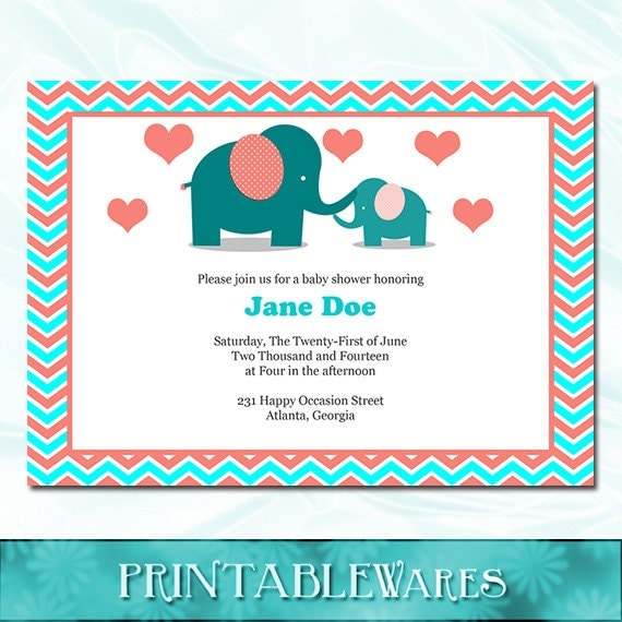 Baby Shower Invites For Girls with adorable invitation layout