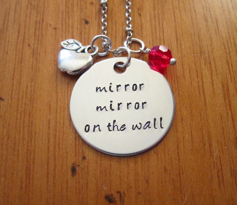 Snow white inspired necklace evil queen villain mirror mirror snow white inspired necklace evil queen villain amipublicfo Choice Image