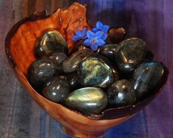1 LABRADORITE Tumbled Stone - Labradorite Crystal, Labradorite Stone, Tumbled Labradorite, Labradorite Gemstone, Labradorite Tumblestone