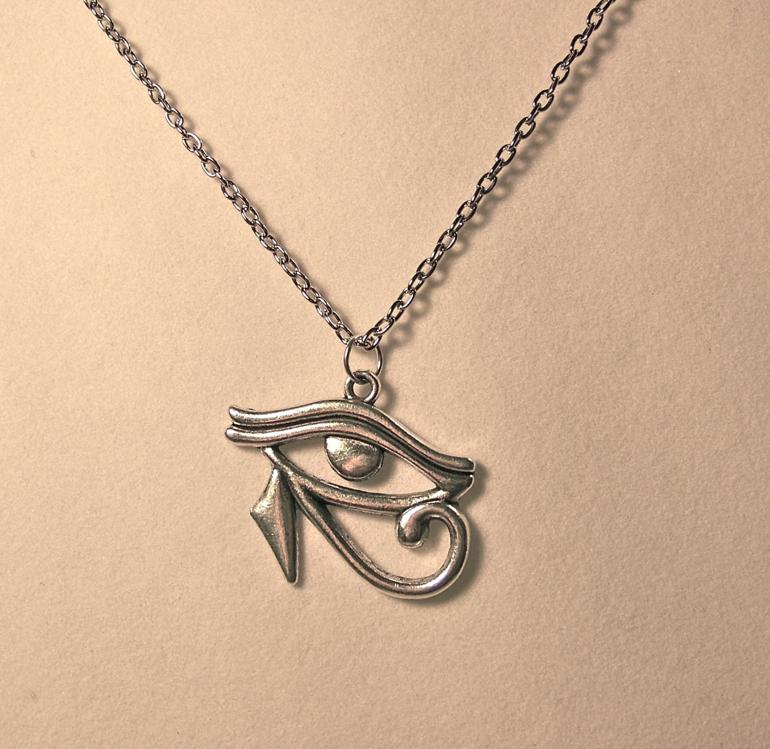 necklace eye of horus eye of ra by