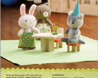 Cute and Cuddly Critters Sewing Pattern Download (803042)