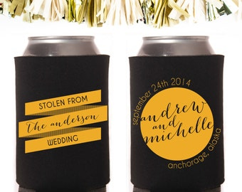 Stolen From the _____ Wedding Wedding Favors: Custom and Personalized Can Cooler