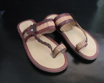 womens leather sandal
