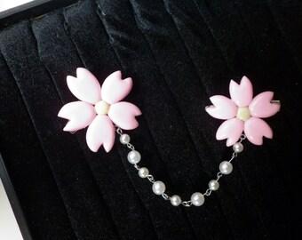Cherry blossoms clip