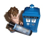 InFATuation - Marshmallow Flavor Doctor Who Inspired Lip Balm Geek Stix - The Adipose - Shimmer