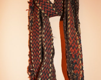 Camel : Vintage Hand Woven Kuwaiti Bedouin Camel Rope,#866