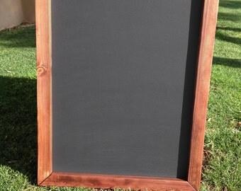 "Rustic MAGNETIC Chalkboard 18""x24"" Reclaimed Wood, Rustic Wedding Chalkboard, Chalkboard, Menu Chalkboard, Kitchen Chalkboard Big Chalkboard"