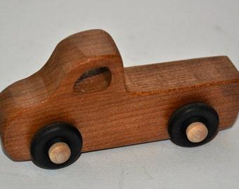 Hardwood Toy Pickup Truck