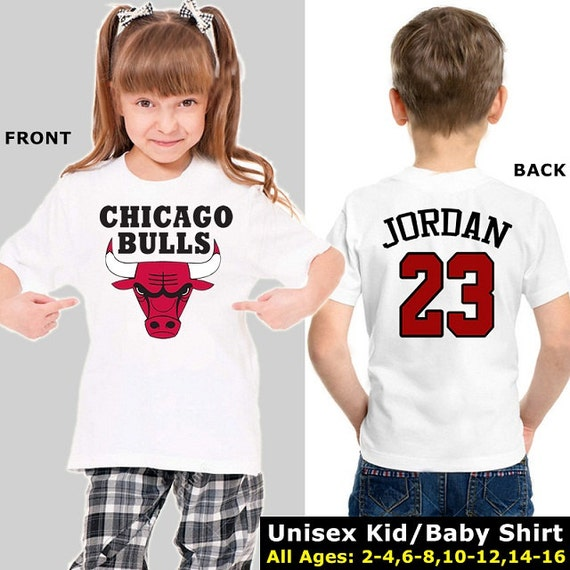 Chicago Bulls baby Chicago Bulls shirt Rose by SportNationShop