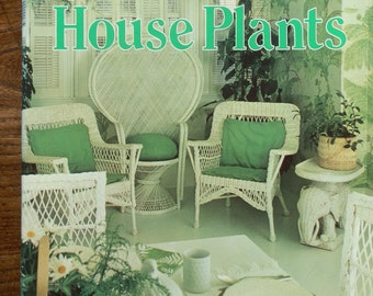 Vintage 1970's Book: Success with House Plants, Reader's Digest 1979