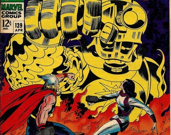 The Mighty Thor #139 (1967) Condition Good