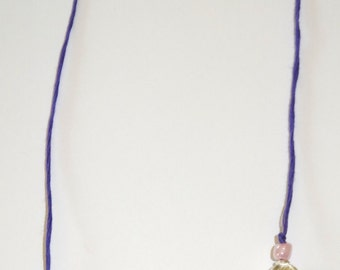"""Handmade Beaded """"Thong"""" bookmark"""