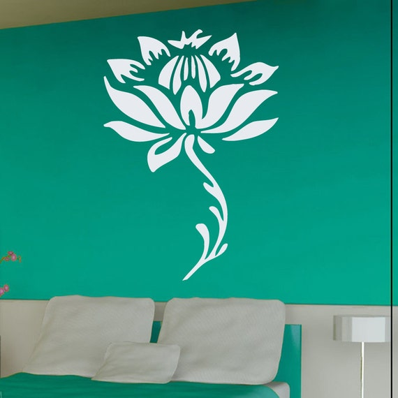 Wall Decals Flower Decal Floral Design Home by