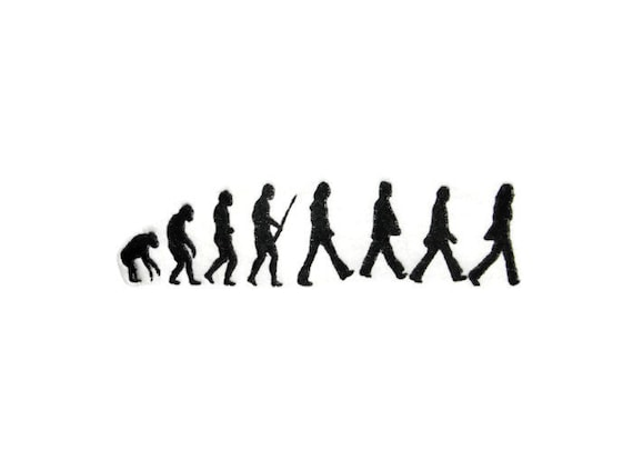 beatles evolution t