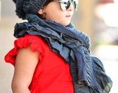 PDF Crochet Pattern - Chloe Slouch Hat