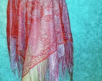 Fringe Fairy Skirt Handmade