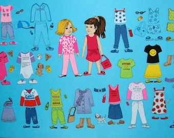 Funky Fashions Felt Board Set---- SO COOL.  Includes 2 SUPER cute girls to dress.