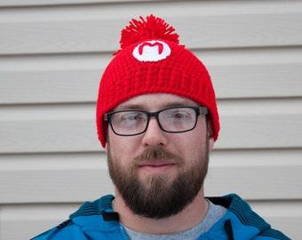 Super Mario Bros crochet hat - Mario