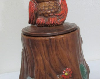 Owl Cookie Jar Treasury Craft USA