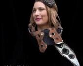 Felt Scarf Women Nunofelt Scarf Men Steampunk designer felt Scarves Silk Wool Scaf Eco shawl SoFiber Art