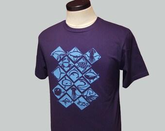 Sea Creatures T Shirt Organic Cotton