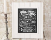 Guest Book, Pick a Post Card. Wedding Sign 8 X 10 in. Chalkboard Reception DIY Printable Marriage Advice, Well Wishes, Advice & Well Wishes