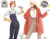 Simplicity Sewing Pattern 9579 - Series 4 Couturier Doll Clothes for 15 1/2 Inch Dolls - Rosie the Riveter/Just Whistle